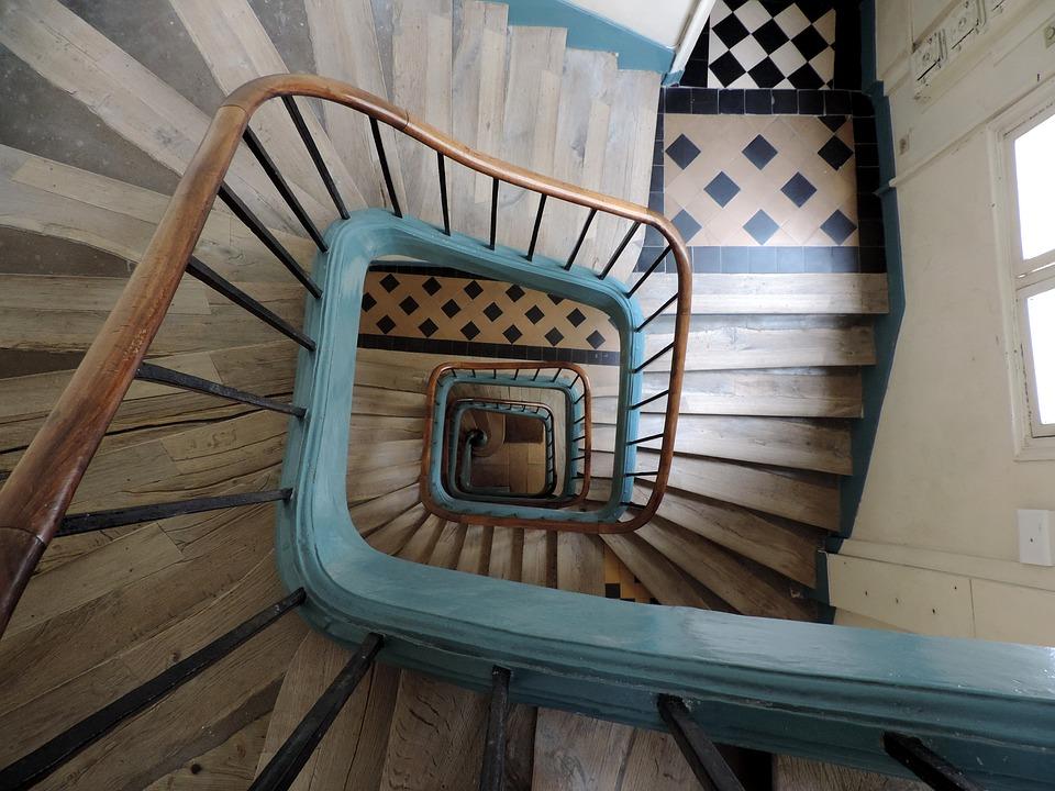 Rampe d'escaliers